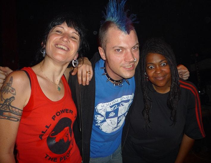 le punk bleu Kiel