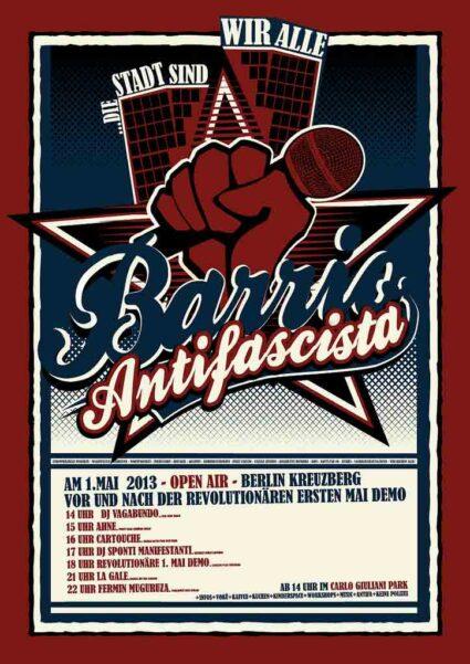 Barrio Antifascista 2013
