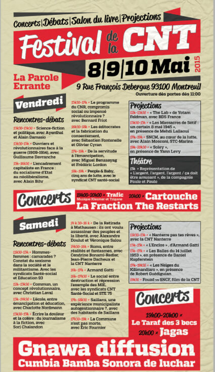 Festivla CNT 2015