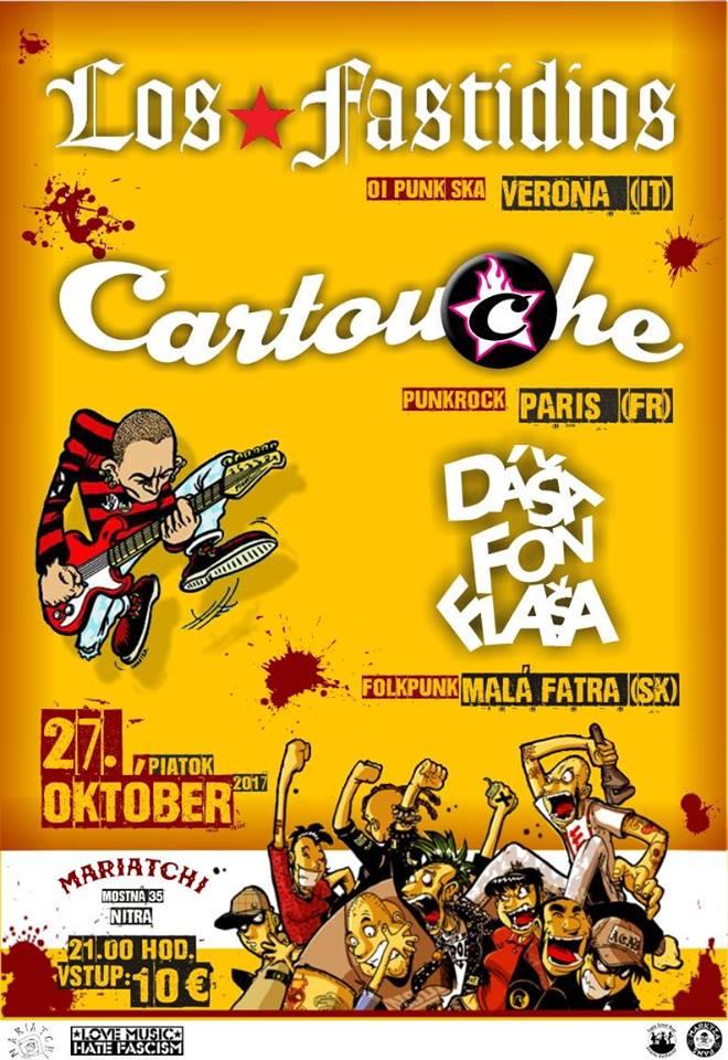 Cartouche_Los_Fastidios_Nitra_Slovaquie