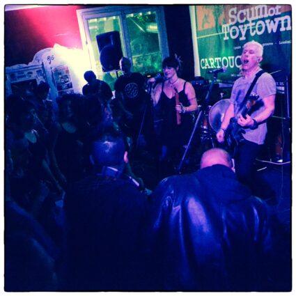 Cartouche + Scum Of Toytown - Montreuil 2015
